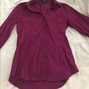 Fuschia express small blouse
